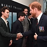 Prince Harry and Harry Styles at Dunkirk Premiere in London