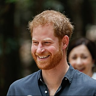 Prince Harry Responding to Woman's Compliment in Australia