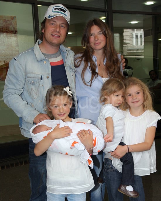 Pictures of Jamie Oliver's Baby Son Buddy 2010-09-16 11:53:00