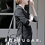 Evan Rachel Wood wore black.
