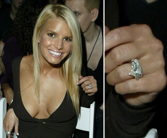 Jessica Simpson Celebrity Engagement Ring Pictures POPSUGAR