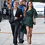Amal Clooney Green Oscar de la Renta Dress May 2019