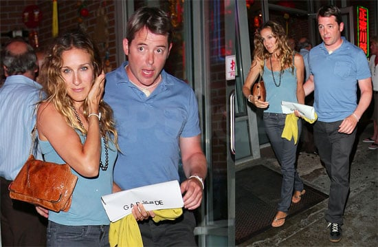 Photos of Sarah Jessica Parker and Matthew Broderick Together in NYC