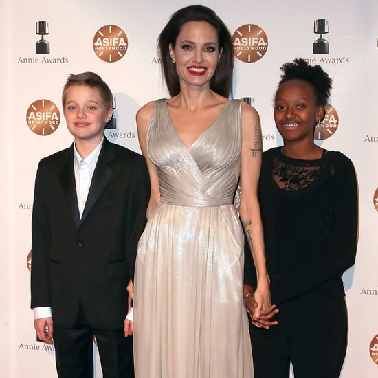 Angelina Jolie and Kids at 2018 Annie Awards Photos