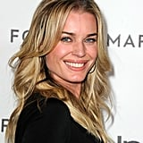 Rebecca Romijn gave one last smile before heading into Forevermark and InStyle's a Promise of Beauty and Brilliance Golden Globe event.