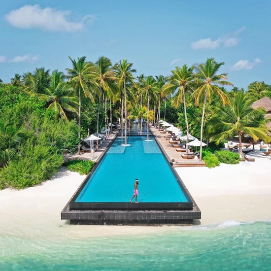 Long Pool at the Fairmont in the Maldives