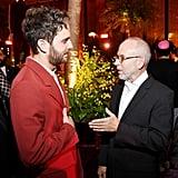 Ben Platt and Bob Balaban at The Politician Premiere