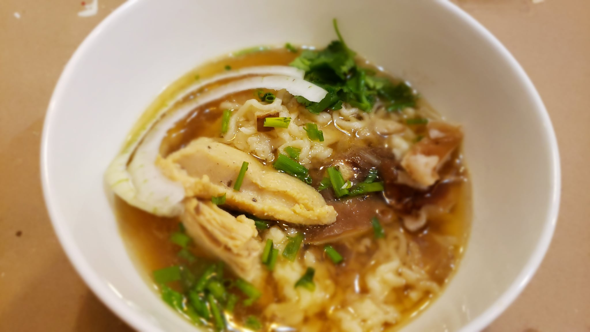 A delicious bowl of Ramen