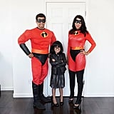 Mr. Incredible, Elastigirl, and Edna Mode