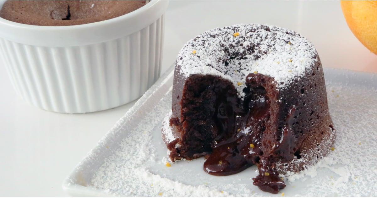 How To Make A White Chocolate Molten Lava Cake