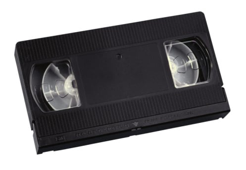 Do You Hold On to Old VHS Tapes?