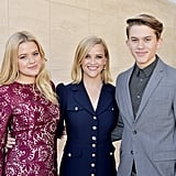 Ava Elizabeth Phillippe, Reese Witherspoon and Deacon Reese Phillippe