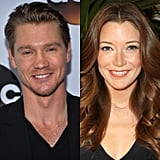 Chad and his Chosen costar Sarah Roemer wed in a secret ceremony in January 2015. They welcomed a baby boy five months later.
