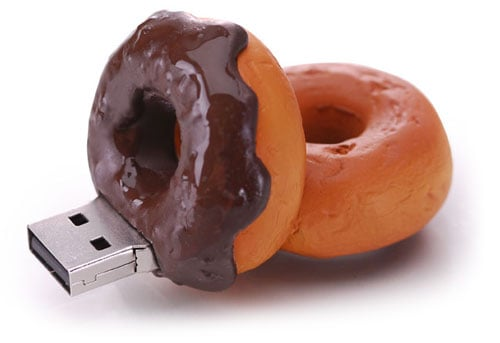 Doughnut USB Device: Totally Geeky or Geek Chic?