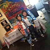 """Happy Birthday to my two little baby boys. They are growing up too fast!!!"" Britney wrote about their birthday party in September 2014."