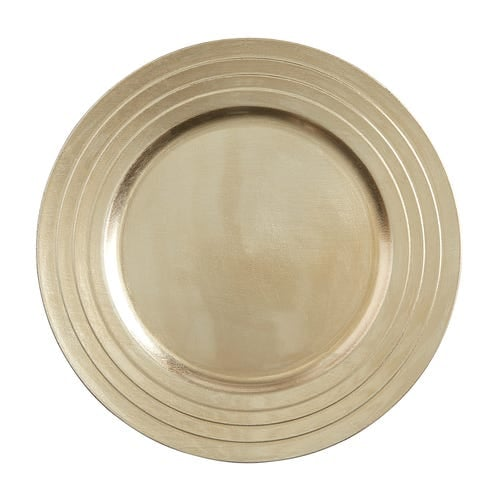 Champagne Charger Plate