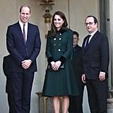 Kate et William à Paris: Retour Sur les Photos de Leur Voyage