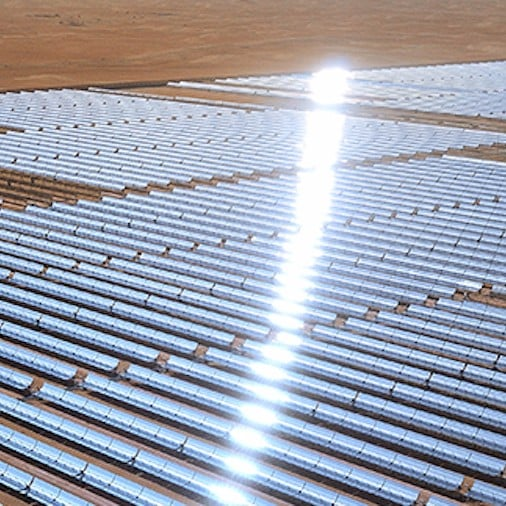 World's Largest Solar Power Plant, Noor Abu Dhabi