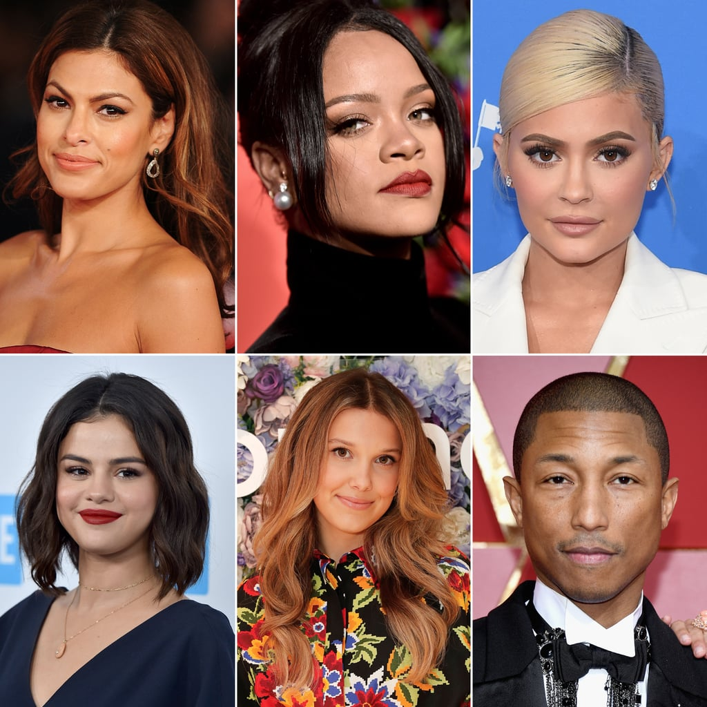 A Timeline of Celebrity Beauty Brands by Year