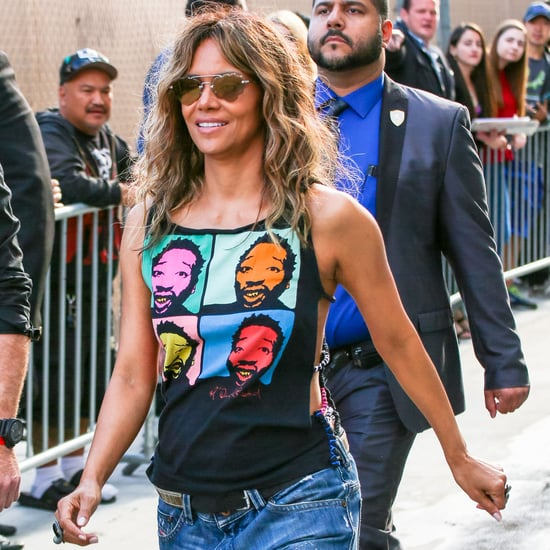 Try Halle Berry's 3-Move Wrist Weight Workout