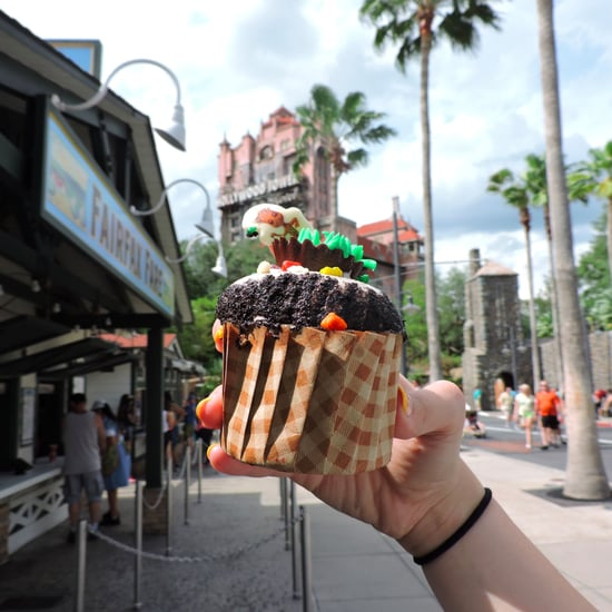 Baby Groot Cupcake at Disney's Hollywood Studios