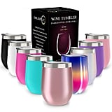 Chillout Life Stainless Steel Stemless Wine Glass Tumbler