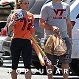 Britney Spears and David Lucado went grocery shopping together in LA.