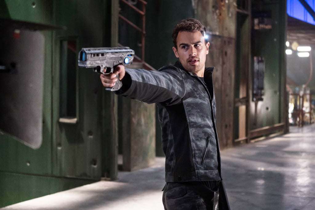 Theo James Pictures From Divergent