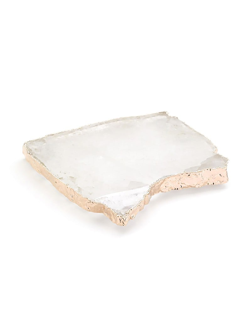 Anna New York by RabLabs Crystal and Rose Gold Coasters ($195)