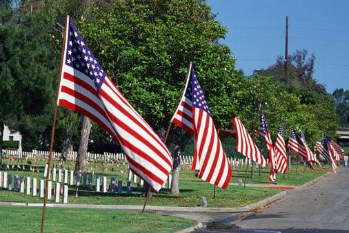 Flag Flying on Memorial Day?