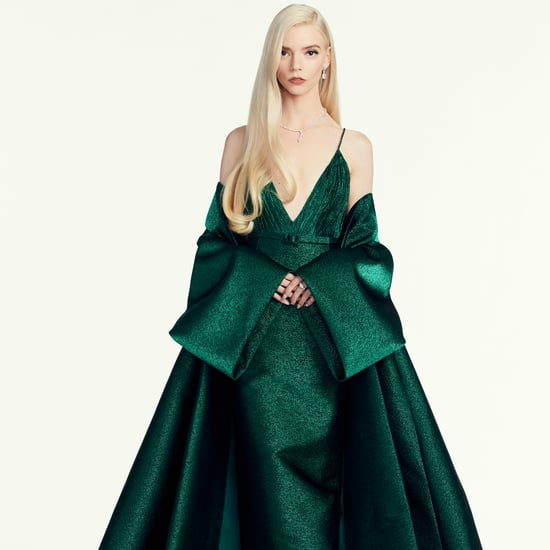 Anya Taylor-Joy's Green Dior Dress at the Golden Globes