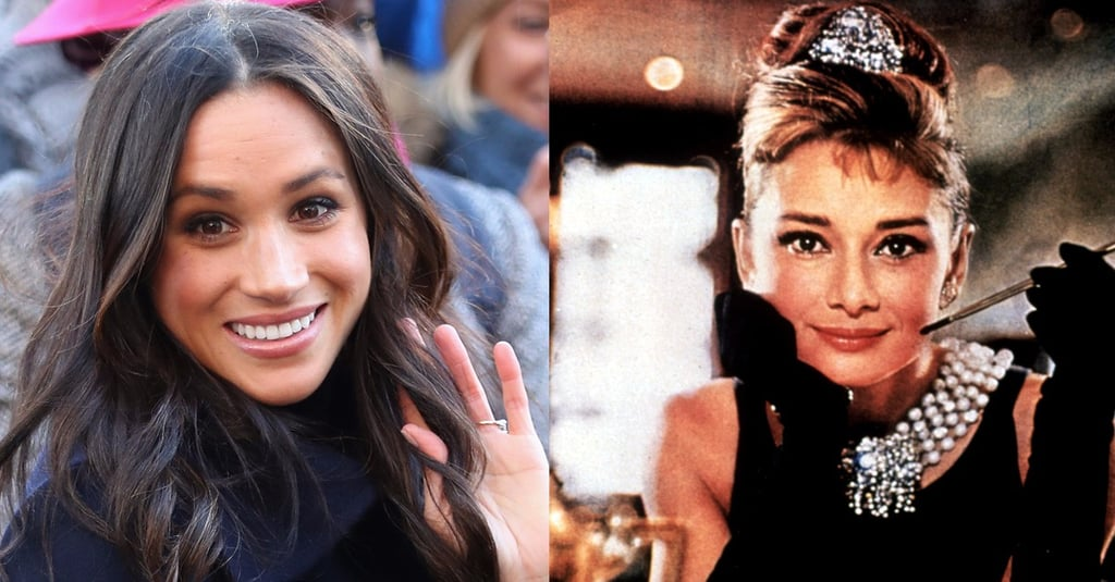 Meghan Markle Audrey Hepburn Eyebrows