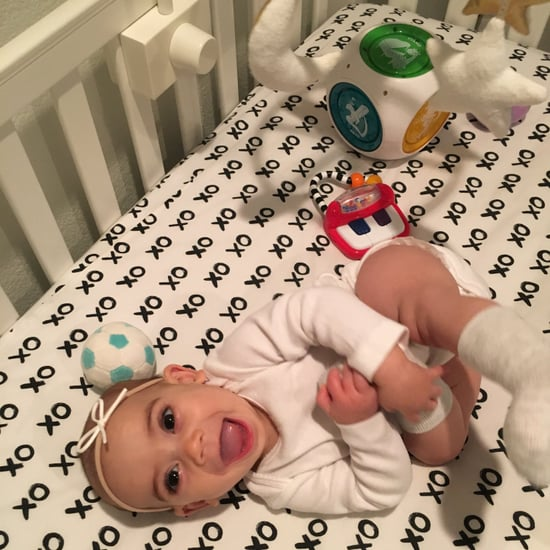 Morning Routine of Mom With 6-Month-Old Baby