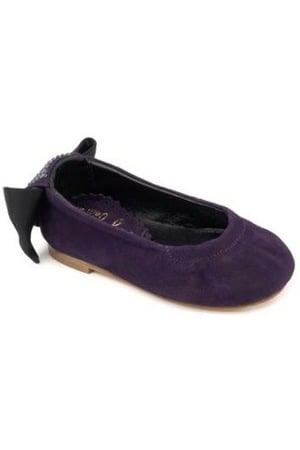 Petite Maloles Celia Bow Ballet Pumps ($160)