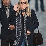 Jen's Suede Hobo Bag