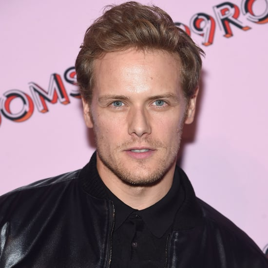 Sam Heughan With Short Hair Pictures