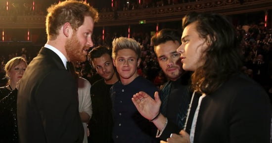Prince Harry Asks What We're All Thinking About Harry Styles' Hair