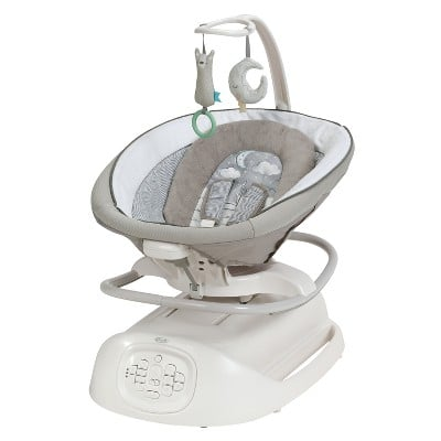 Graco Sense2Soothe Baby Swing with Cry Detection Technology in Sailor