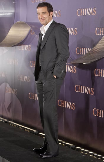 Pictures of Clive Owen Promoting in Spain