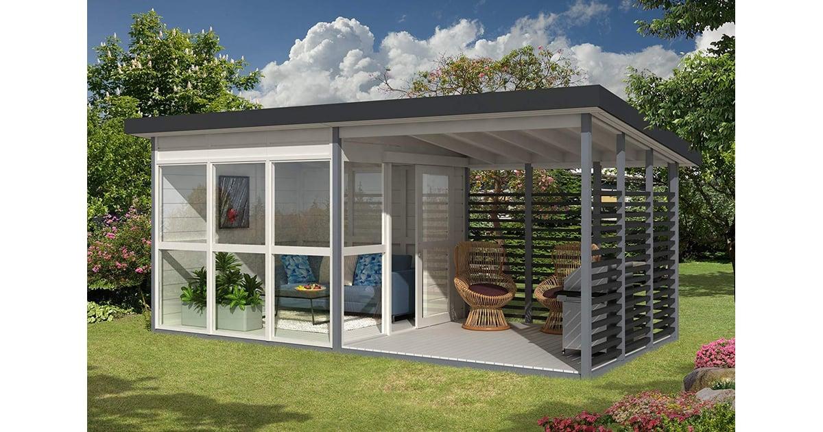 Amazon DIY Backyard Guest House | POPSUGAR UK Parenting ...