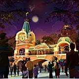 Entrance to Shanghai Disneyland Rendering