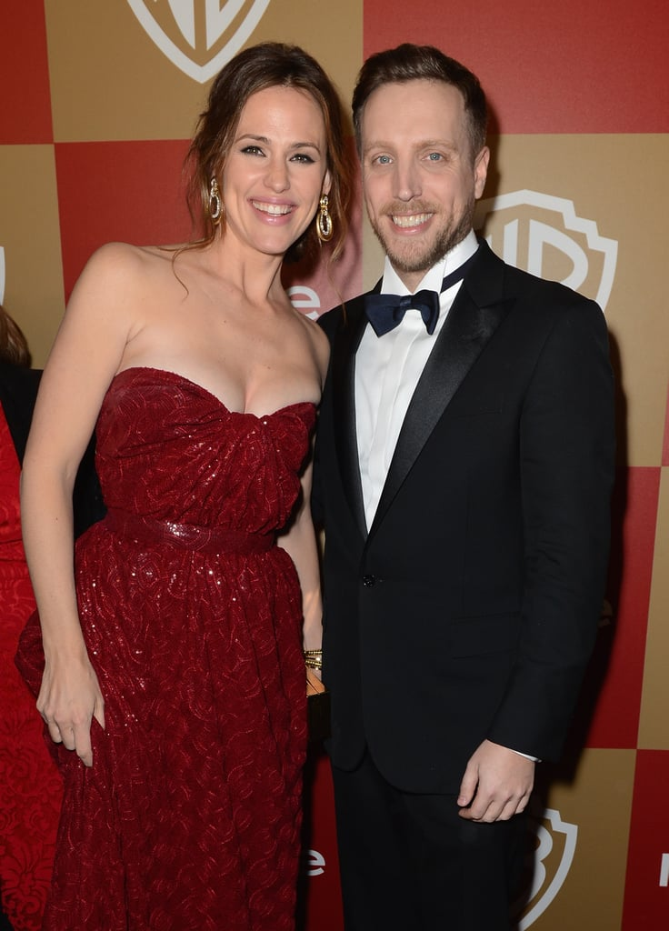 Jennifer Garner posed with InStyle's Ariel Foxman.