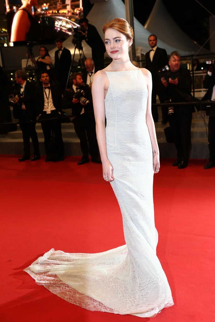 Emma Stone at the Premiere of Irrational Man During the Cannes Film Festival in 2015