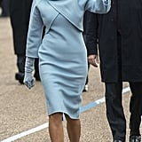 Melania in Ralph Lauren Collection, January