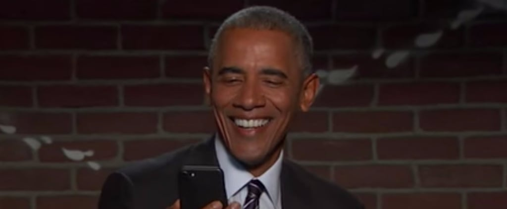 """Barack Obama Stars in the Latest Round of """"Mean Tweets,"""" and It's Brutal"""