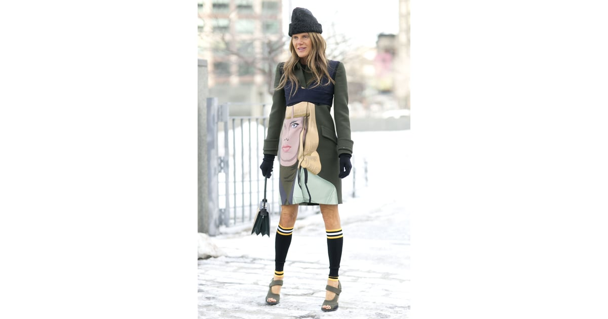 Nyfw Street Style Day 7 Best Street Style At New York Fashion Week Fall 2014 Popsugar