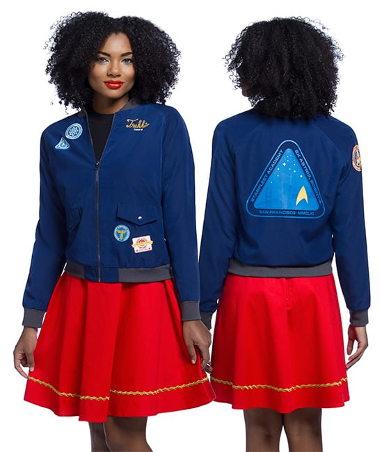 Star Trek Patches Paige Bomber