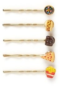 Venessa Arizaga Snack Attack Bobby Pin Set ($95)