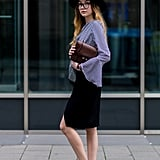 A Slightly Unconventional Knee-Length Skirt