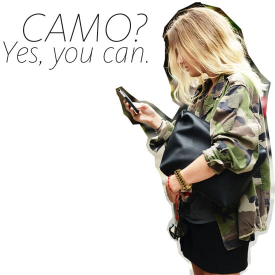 Six Ways to Wear Camouflage, Minus the Army Fatigue
